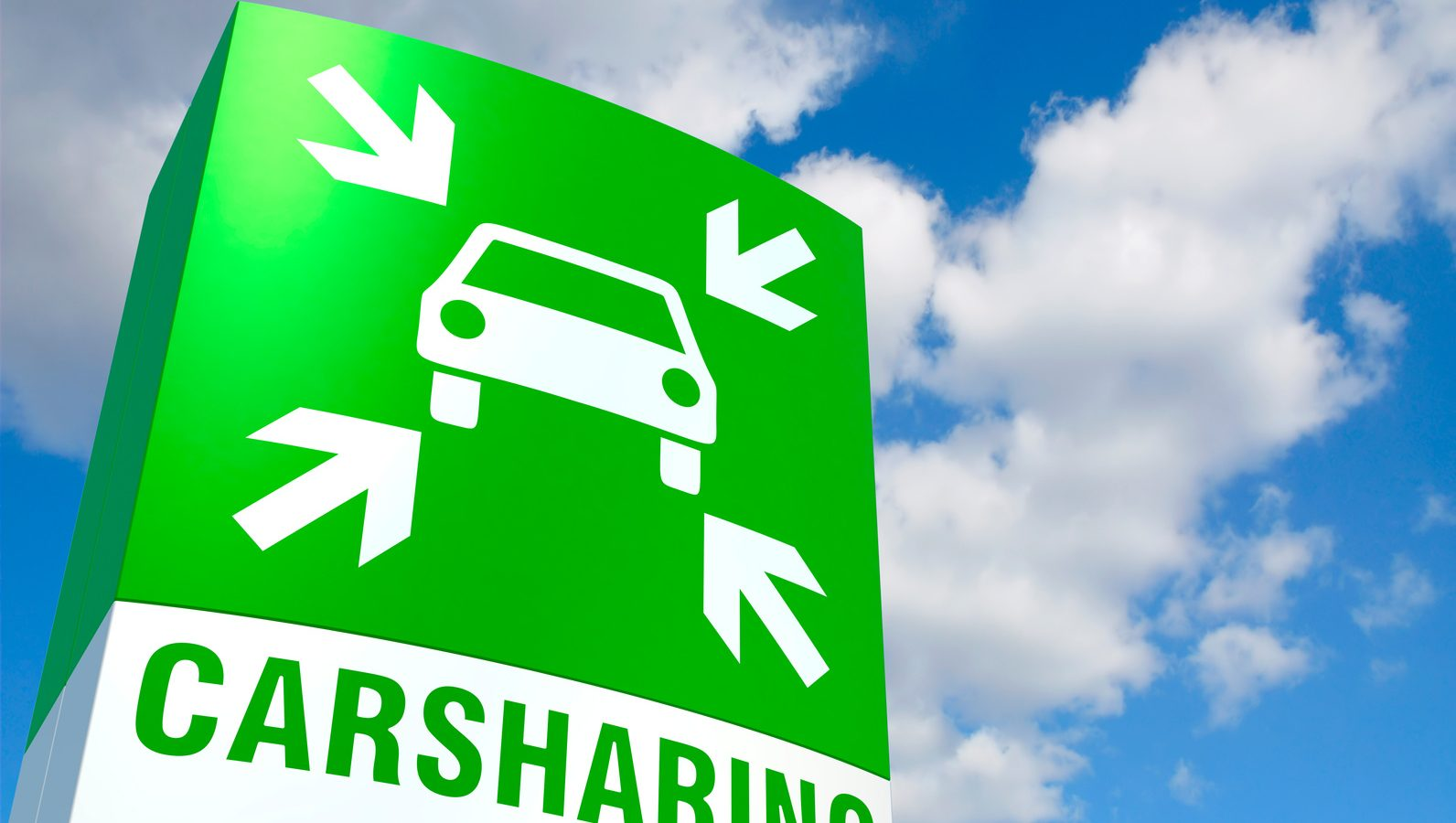 Schild Carsharing-Point
