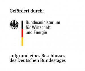 Das Projekt wird vom Bundesministerium für Wirtschaft und Energie gefördert. (Logo: BMWi)