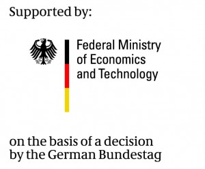 The project is by the German Federal Ministry for Economic Affairs and Energy. (Logo: BMWi)