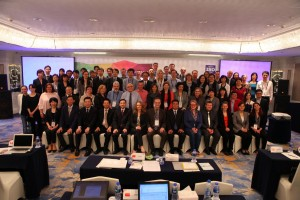 The ISO Technical Committee ISO/TC 276 Biotechnology during the meeting in Shenzhen, China. (Photo: HITS)