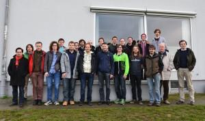 Participants of the IX. Würzburg Workshop (Photo: Ulrich Nöbauer)