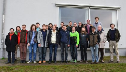 Participants of the IX. Würzburg Workshop (Photo: Ulrich Nöbauer)